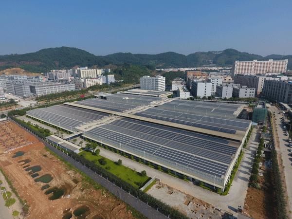 光伏工商光伏案例-米亚精密金属科技,米亚精密金属科技,装机容量:3.13MW