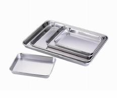 Stainless Steel rectangular Tray for BT391