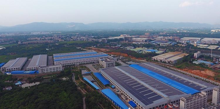 广州大津电器工商业光伏工程鸟瞰图