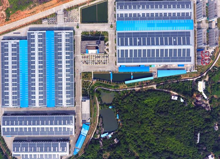 菠菜娱乐场光伏工商光伏案例-广州大津,装机容量:7.957MW
