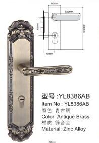 高级插芯锁系列-YL8386AB
